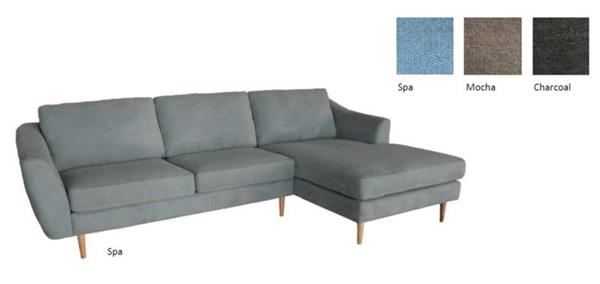 down - Downtown Sofa with Chaise
