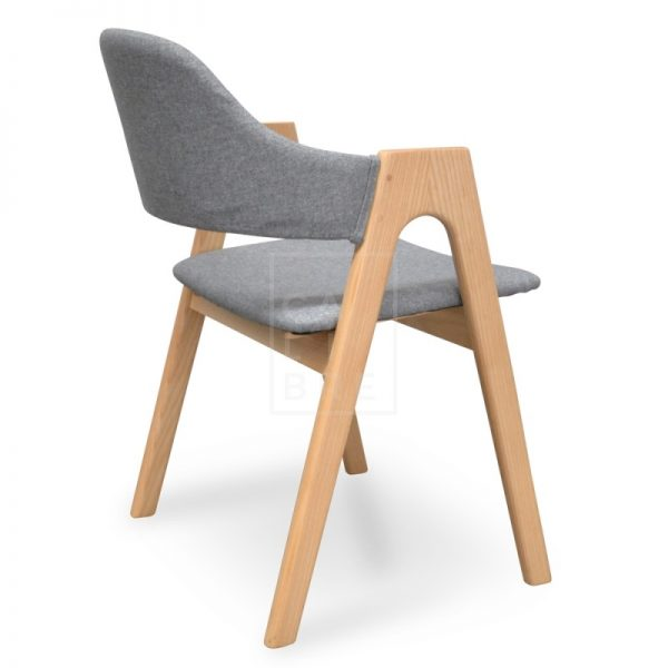jay4 600x600 - Jay Dining Chair - Light Grey