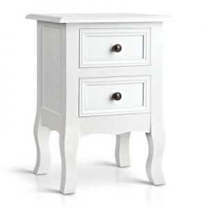 mali 300x300 - Mali Bedside Table - White