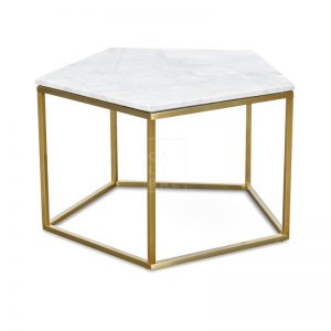 melize 300x300 - Melize Marble Coffee Table - White