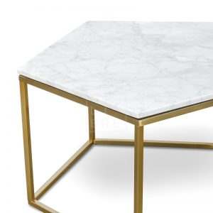 melize1 300x300 - Melize Marble Coffee Table - White