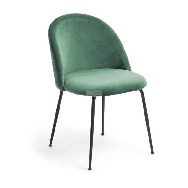 myst1 600x600 - Mystere Dining Chair - Emerald Velvet/Black