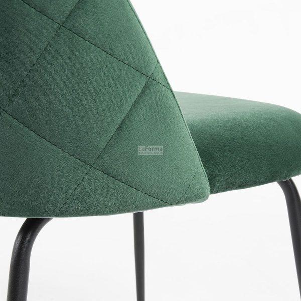 myst4 600x600 - Mystere Dining Chair - Emerald Velvet/Black