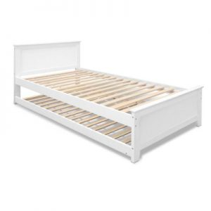 natasha 300x300 - Natasha King Single Wooden Bed - White