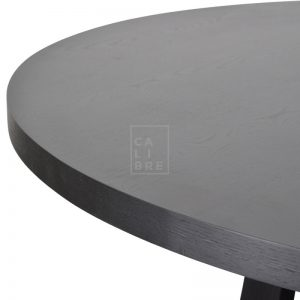richo3 300x300 - Richo 1200 Round Dining Table - Black