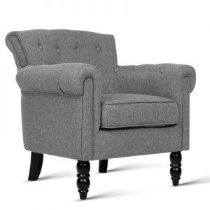 sherine6 300x300 - Sherine Armchair - Light Grey