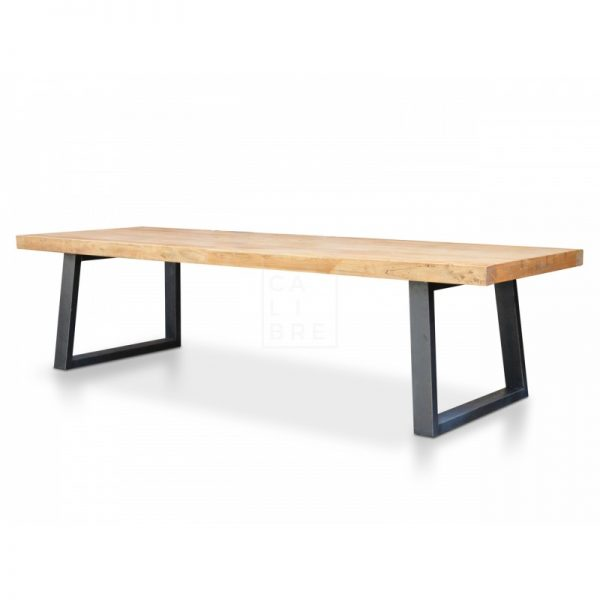 3 600x600 - Cameron Reclaimed Elm Wood 3000 Dining Table