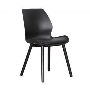 B2.23 Europa Chair Black Black 1 300x300 - Europa Dining Chair - Black