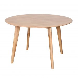 B6 Belmont 1200 Round Europa Black Nat 300x300 - Belmont 1200 Dining Table - Natural
