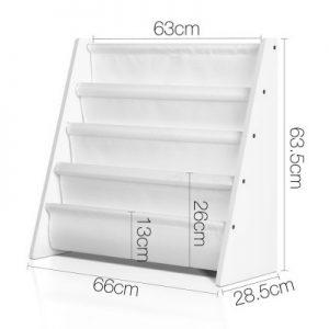 FURNI G MAG257 WH 01 300x300 - Neema Kids Bookshelf - White