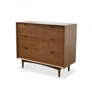 asta 3drawer chest 300x300 - Chaise 3 Drawer Chest - Walnut