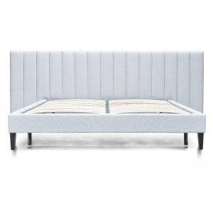 bd2279 mi front 1 300x300 - Aura Queen Size Bed - Cement Grey