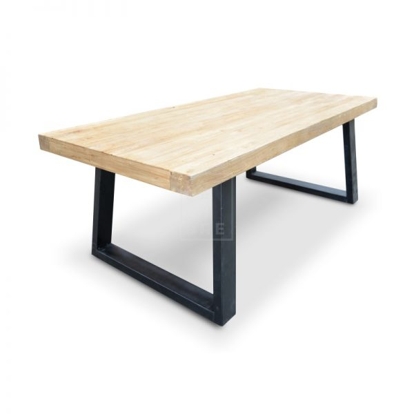 dsc 6329 2 1 600x600 - Cameron Reclaimed Elm Wood 3000 Dining Table