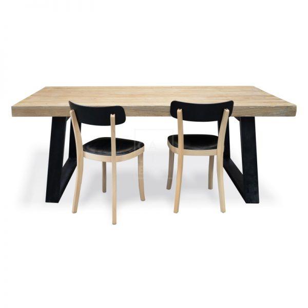 dsc 6342 2 600x600 - Cameron Reclaimed Elm Wood 2400 Dining Table