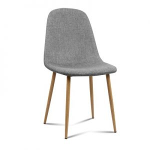lyss7 300x300 - Ilyssa Fabric Dining Chair - Light Grey