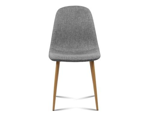lyss9 - Ilyssa Fabric Dining Chair - Light Grey
