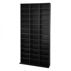 d shelf bl ab 04 300x300 - Adjustable Book Storage Unit - Black