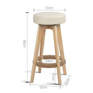 Alex 2 300x300 - Alex Bar Stool - Beige