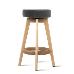 Alex 3 1 300x300 - Alex Bar Stool - Grey