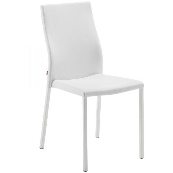 Aura 3 600x600 - Aura Dining Chair -White