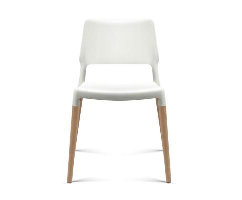 BA TW M2503 086 WHX4 02 - Cafe Belloch Chair - White