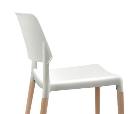 BA TW M2503 086 WHX4 05 - Cafe Belloch Chair - White