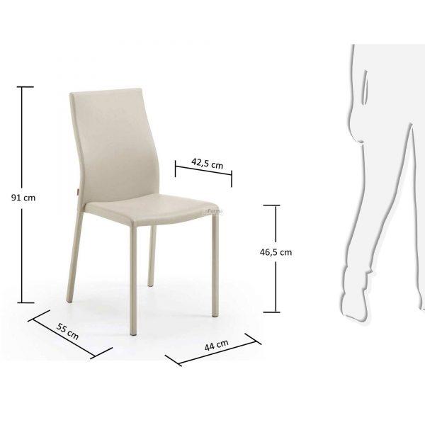 c039u38 3m 600x600 - Aura Dining Chair - Pearl