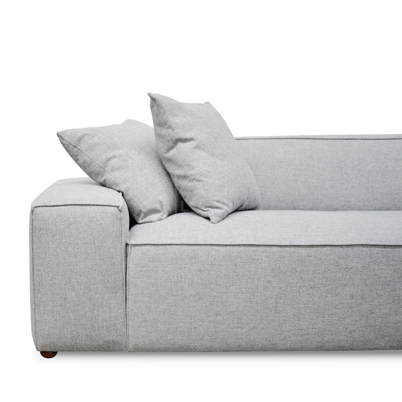 Terrific Jason 2 Seater Right Chaise Sofa Cement Grey Unemploymentrelief Wooden Chair Designs For Living Room Unemploymentrelieforg