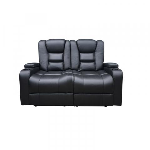 mercury 2 seater - Mercury 2 Seater - Home Theatre Suite Black