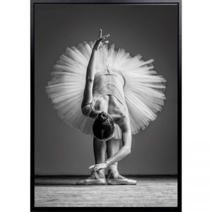 Bella II 300x300 - Bella Ballerina II - Black & White Canvas