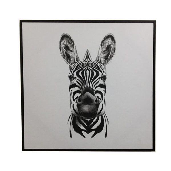 E533112 1 600x600 - Ziggy Zebra Print - Black & White
