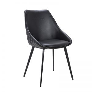 ashley1 300x300 - Ashley Dining Chair - Black PU
