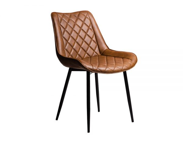 kenna1 600x480 - Kenna Dining Chair - Rust