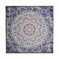 mandala main 1 - The Mandala Canvas Framed Wall Print