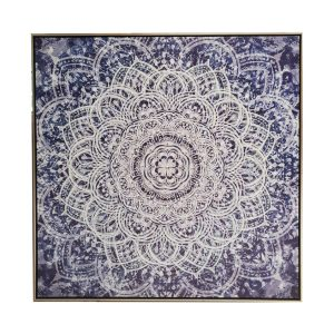 mandala main 1 300x300 - The Mandala Canvas Framed Wall Print