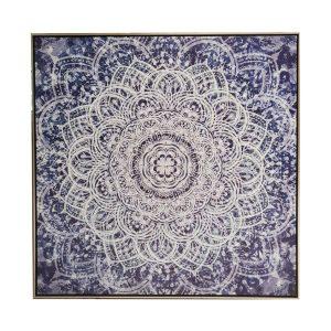 mandala main 1 300x300 - The Mandala Canvas Framed Wall Print