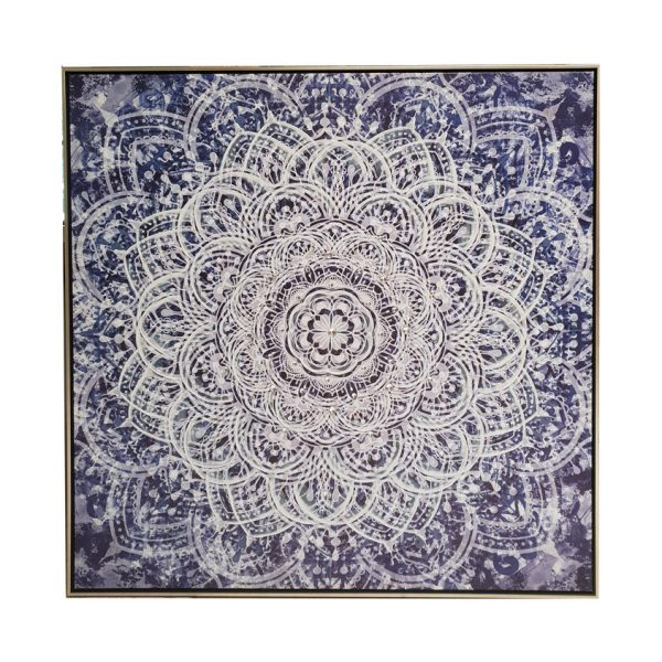mandala main 1 600x600 - The Mandala Canvas Framed Wall Print