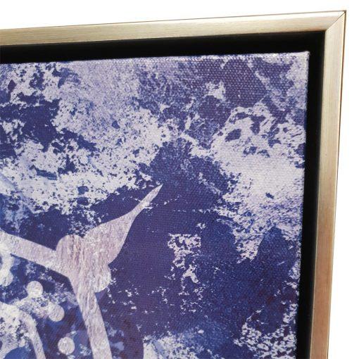 mandala2 510x510 - The Mandala Canvas Framed Wall Print