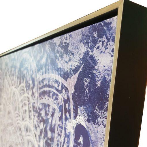 mandala3 510x510 - The Mandala Canvas Framed Wall Print