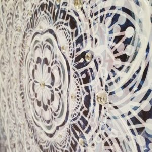 mandela1 510x510 300x300 - The Mandala Canvas Framed Wall Print