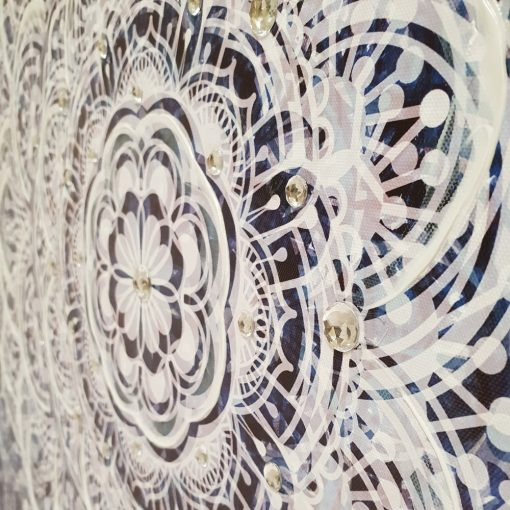 mandela1 510x510 - The Mandala Canvas Framed Wall Print