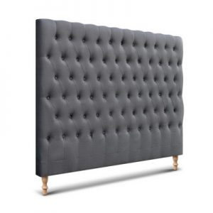 BFRAME E MARO K CHAR 00 300x300 - Marcos French Provincial Upholstered Fabric Headboard Charcoal-King Size