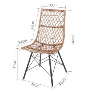 BA H 3915 NTX4 01 300x300 - Russell Rattan Dining Chair-Natural