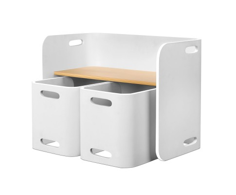 bent b kid tab03 nt wh 00 - EMMY TABLE & CHAIRS