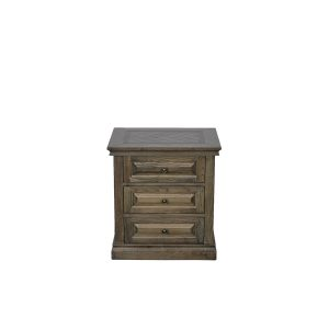 mosaic bedside 01 300x300 - Mosaic 3 Drawer Oak Bedside Table