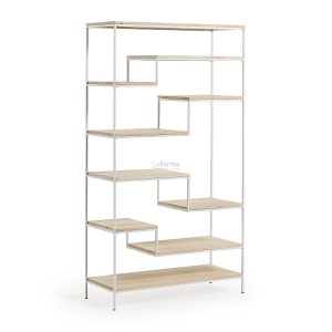pyke 300x300 - Pyke Large Bookshelf -White