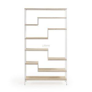 pyke1 300x300 - Pyke Large Bookshelf -White