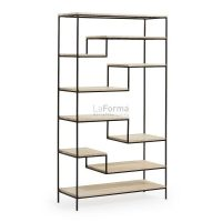 pyke5 - Pyke Large Bookshelf - Black