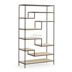 pyke5 300x300 - Pyke Large Bookshelf - Black