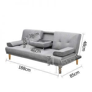 sbed r1c linen bk 01 1 300x300 - Royale 3 Seater Sofa Bed